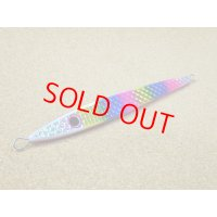 passions・おにぎりジグ 波動スライド 180g/小平商店オリジナルカラー Kレインボーピンクベリー(ウロコホロ)