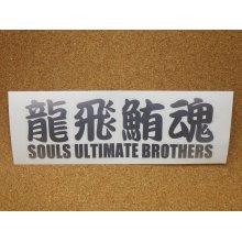 他の写真2: SOULS・龍飛鮪魂カッティングステッカー