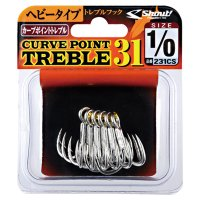 Shout・CURVE POINT TREBLE 31